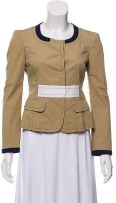 Philosophy di Alberta Ferretti Crew Neck Long Sleeve Jacket