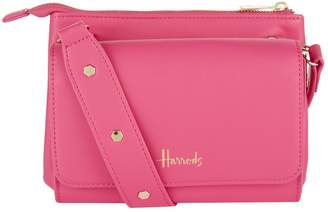 Harrods Compton Layered Crossbody Bag