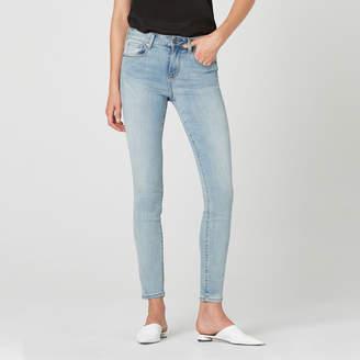 DSTLD High Waisted Skinny Jeans in Light Vintage