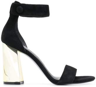 KENDALL + KYLIE Kendall+Kylie metallic heel sandals