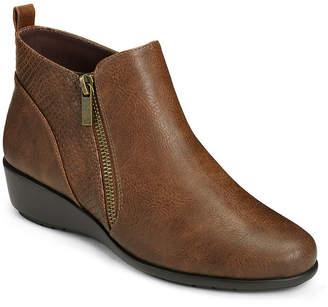 Aerosoles A2 BY  Womens All The Way Flat Heel Zip Booties