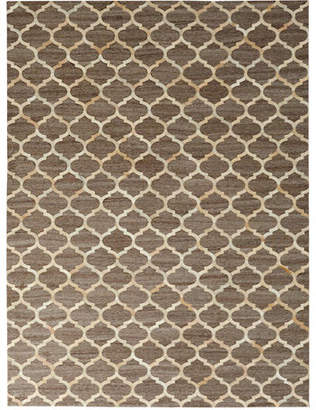 Exquisite Rugs Samovar Hairhide Rug, 5' x 8'