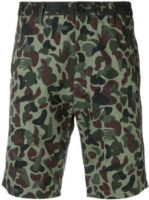 Paul Smith camouflage printed shorts