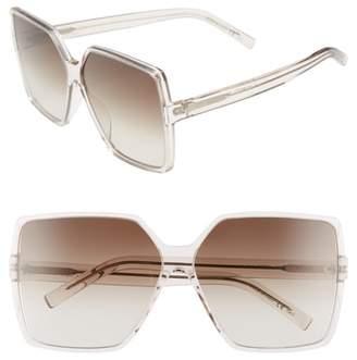 Saint Laurent Betty 63mm Sunglasses