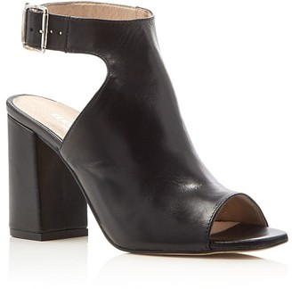Kenneth Cole Tai Open Toe Booties $170 thestylecure.com