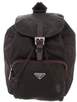 64c15f982582 Prada Tessuto Drawstring Backpack