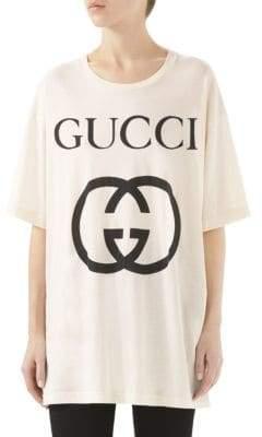 Gucci GG Big Logo Oversize Tee