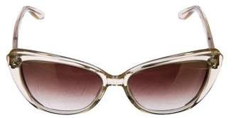 Barton Perreira Javotte Mirrored Sunglasses
