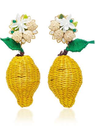 Mercedes Salazar Limon Silvestre Earrings