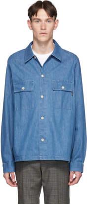 Paul Smith Blue Denim Over Shirt