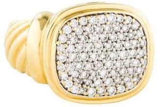 David Yurman 18K Diamond Noblesse Cocktail Ring
