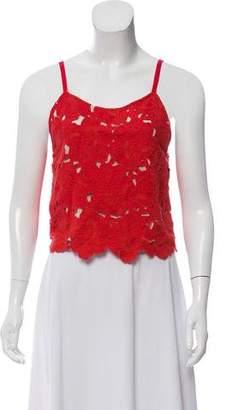 Alice + Olivia Crochet Crop Top