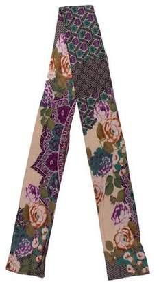 Etro Silk & Cashmere Printed Scarf