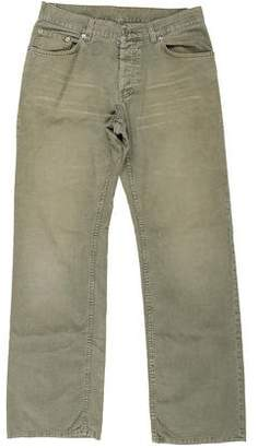 Helmut Lang Vintage Corduroy Five-Pocket Relaxed-Fit Jeans