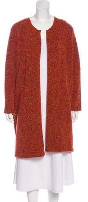 eskandar Knit Knee-Length Cardigan