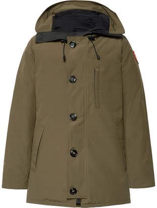 Canada Goose Chateau Shell Hooded Down Parka - Army green