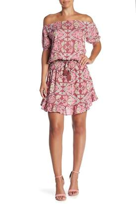 Tiare Hawaii Wonderland Off-the-Shoulder Dress