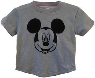 7517f3f898ad DISNEY MICKEY MOUSE Disney Boys Crew Neck Short Sleeve Mickey Mouse Graphic  T-Shirt-