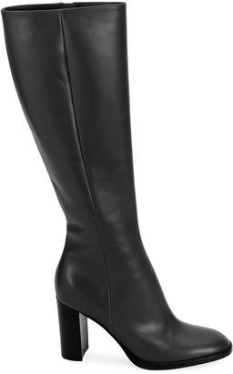 Gianvito Rossi Tall Leather Knee Boots