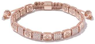 Shamballa Jewels 18kt rose gold and diamond Flip-Lock bracelet