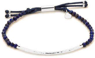 Gorjana Power Gemstone Lapis Bracelet for Wisdom, Silver