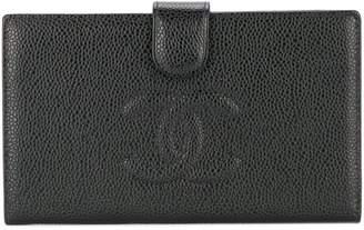 Chanel Pre-Owned 2002-2003 CC logo bilfold wallet