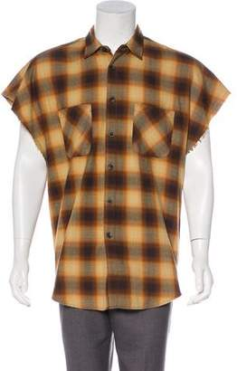 Fear Of God 2016 Check Pattern Button-Up Shirt