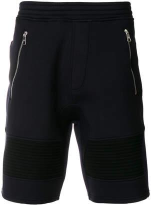 Neil Barrett double bonded sweat shorts
