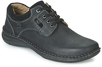 Josef Seibel ANVERS 36 men's Casual Shoes in Black