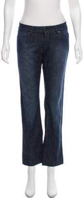 Prada Low-Rise Straight-Leg Jeans