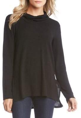 Karen Kane Marled Cowlneck Sweater