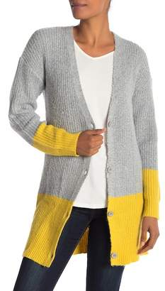Love by Design Color Block Grandpa Cardigan