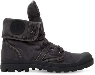 Palladium Pallabrouse Baggy Washed Canvas Boots