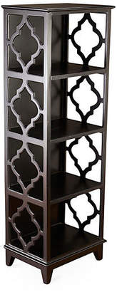 "One Kings Lane Barton 57"" Trellis Bookcase - Espresso"