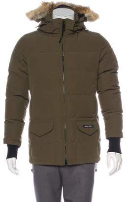 Canada Goose Down Hooded Parka