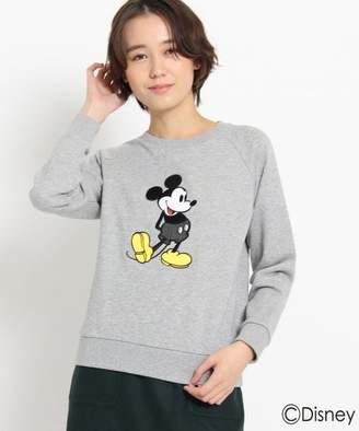 Dessin (デッサン) - Dessin 刺繍スウェット(ミッキーマウス)