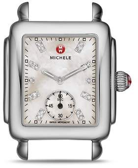 Michele Deco 16 Diamond Watch Head, 29 x 31mm