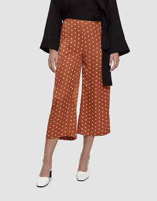 Farrow Dale Polka Dot Culotte Pants in Rust