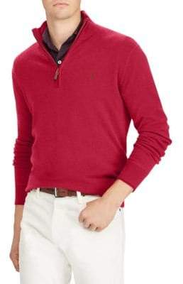 Polo Ralph Lauren Half-Zip Cashmere Sweater