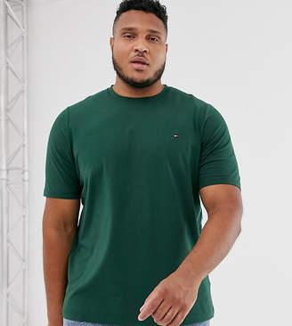 Tommy Hilfiger Big & Tall classic logo t-shirt in green