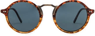 Oliver Peoples Kosa in Vintage 1262 w/ Blue | FWRD