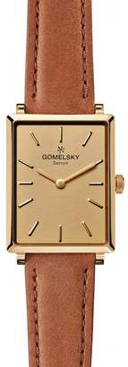 Shinola Gomelsky by Women's Shirley Fromer 32mm Leather Watch