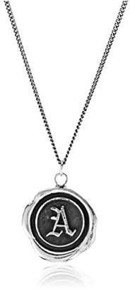 """Pyrrha talisman"""" Sterling Letter E Necklace"""