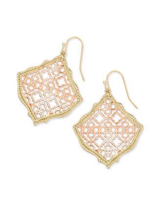 Kendra Scott Kirsten Drop Earrings in Filigree
