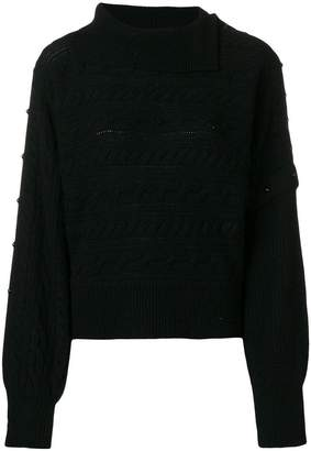 Philosophy di Lorenzo Serafini cable knit sweater