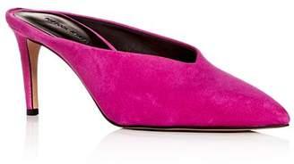 Rebecca Minkoff Women's Graciano Pointed Toe High-Heel Mules