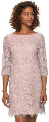 Women's Jessica Howard Fringe Lace Shift Dress $130 thestylecure.com