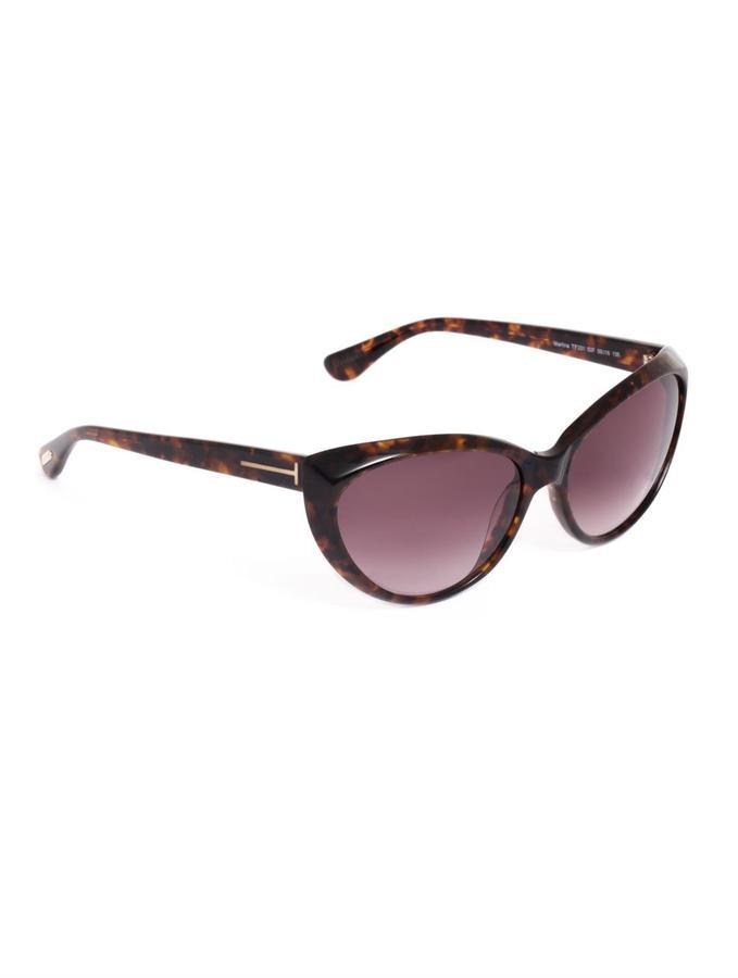 Tom Ford Sunglasses Havana cat-eye sunglasses