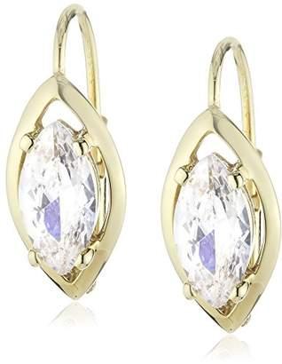 Celesta Fascination by Ellen K. 139330003 Ladies' Pendant Earrings Cubic Zirconia 333/Yellow Gold