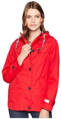 Joules Coast Waterproof Hooded Jacket Women's Coat